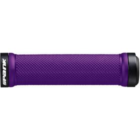 Spank Spoon Lock-On Handvatten, purple